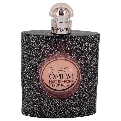 Black Opium Nuit Blanche by Yves Saint Laurent Eau De Parfum Spray (Tester) 3 oz (Women)