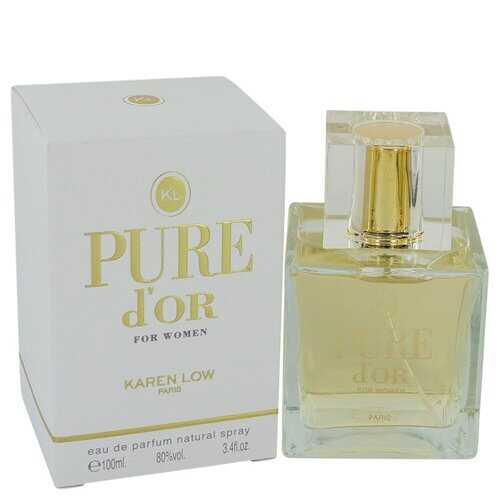 Pure D'or by Karen Low Eau De Parfum Spray 3.4 oz (Women)