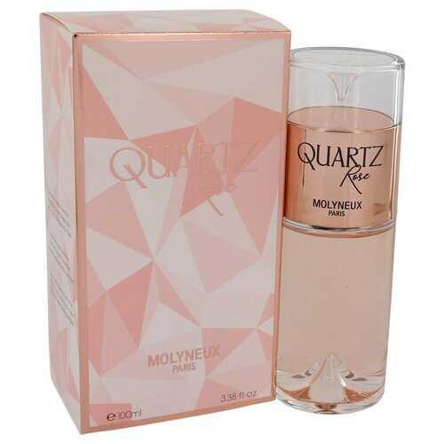 Quartz Rose by Molyneux Eau De Parfum Spray 3.38 oz (Women)