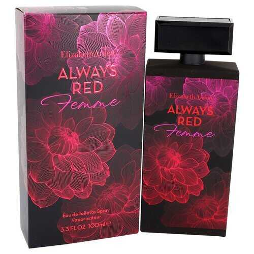 Always Red Femme by Elizabeth Arden Eau De Toilette Spray 3.3 oz (Women)