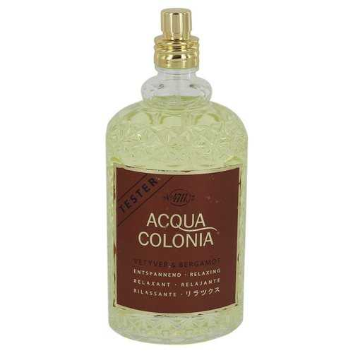 4711 Acqua Colonia Vetyver & Bergamot by Maurer & Wirtz Eau De Cologne Spray (Unisex Tester) 5.7 oz (Women)