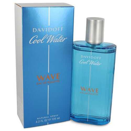 Cool Water Wave by Davidoff Eau de Toilette Spray 4.2 oz (Men)