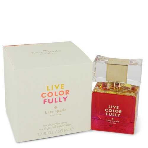 Live Colorfully by Kate Spade Eau De Parfum Spray 1.7 oz (Women)