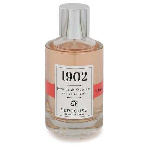 1902 Pivoine & Rhubarbe by Berdoues Eau De Toilette Spray (Tester) 3.38 oz (Women)