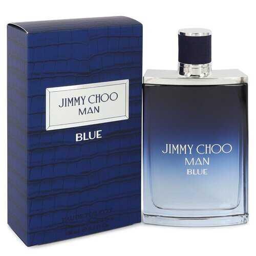 Jimmy Choo Man Blue by Jimmy Choo Eau De Toilette Spray 3.3 oz (Men)