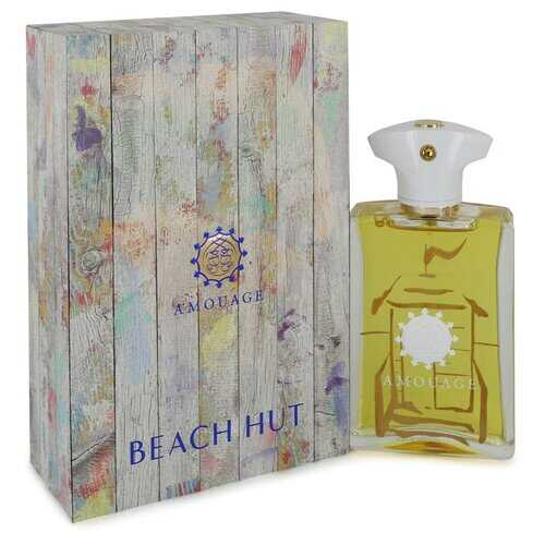 Amouage Beach Hut by Amouage Eau De Parfum Spray 3.4 oz (Men)
