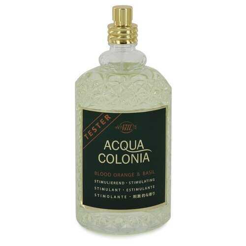 4711 Acqua Colonia Blood Orange & Basil by Maurer & Wirtz Eau De Cologne Spray (Unisex Tester) 5.7 oz (Women)