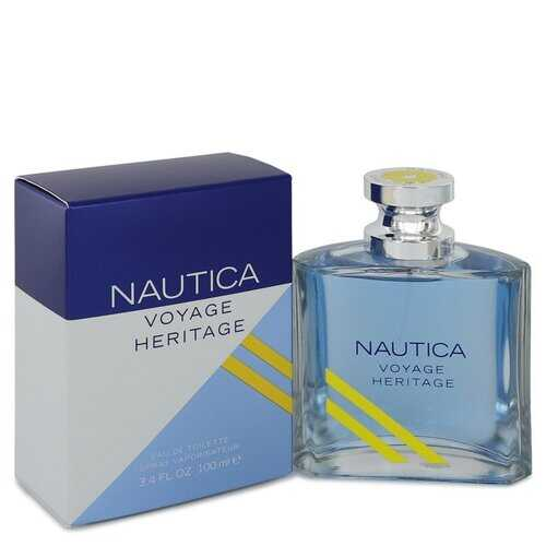 Nautica Voyage Heritage by Nautica Eau De Toilette Spray 3.4 oz (Men)