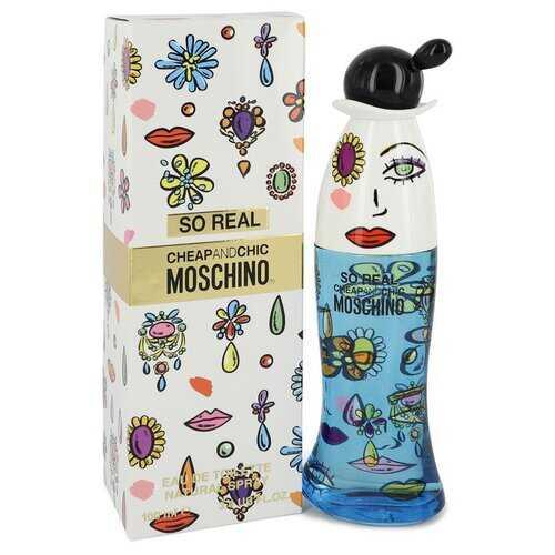 Cheap & Chic So Real by Moschino Eau De Toilette Spray 3.4 oz (Women)