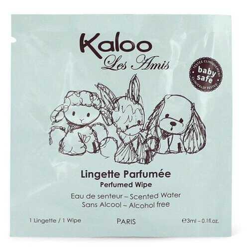 Kaloo Les Amis by Kaloo Pefumed Wipes 0.1 oz (Men)