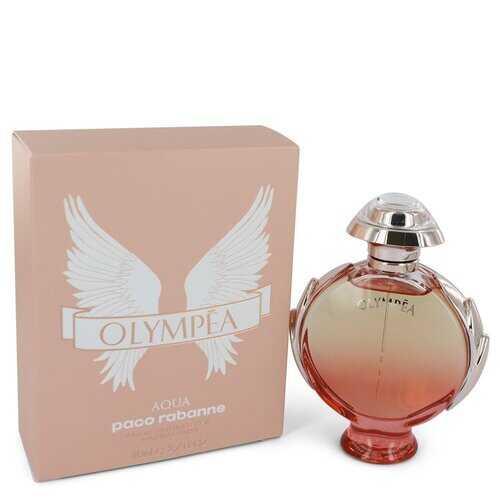 Olympea Aqua by Paco Rabanne Eau De Parfum Legree Spray 2.7 oz (Women)