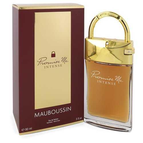 Mauboussin Promise Me Intense by Mauboussin Eau De Parfum Spray 3 oz (Women)