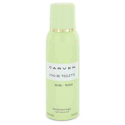 Carven L'eau De Toilette by Carven Deodorant Spray (Tester) 5 oz (Women)