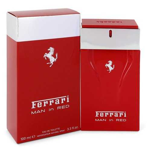 Ferrari Man In Red by Ferrari Eau De Toilette Spray 3.4 oz (Men)