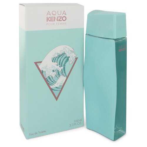 Aqua Kenzo by Kenzo Eau De Toilette Spray 3.3 oz (Women)