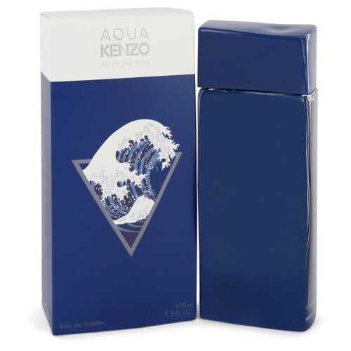 Aqua Kenzo by Kenzo Eau De Toilette Spray 3.3 oz (Men)