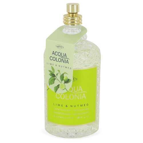 4711 Acqua Colonia Lime & Nutmeg by Maurer & Wirtz Eau De Cologne Spray (Tester) 5.7 oz (Women)