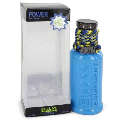 BUM Power by Bum Equipment Eau De Toilette Spray 3.4 oz (Men)