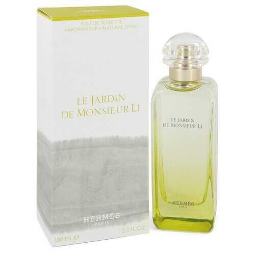 Le Jardin De Monsieur Li by Hermes Eau De Toilette Spray (Unisex) 3.3 oz (Men)