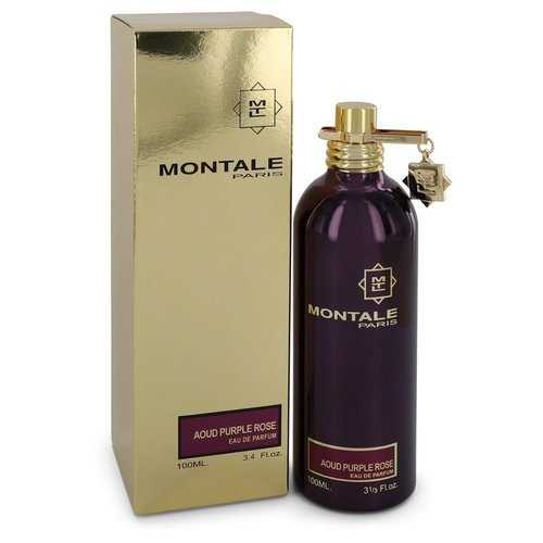 Montale Aoud Purple Rose by Montale Eau De Parfum Spray (Unisex) 3.4 oz (Women)