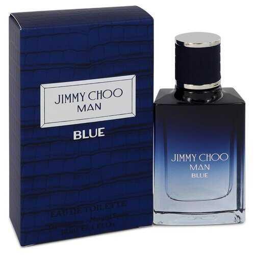 Jimmy Choo Man Blue by Jimmy Choo Eau De Toilette Spray 1 oz (Men)