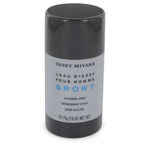 L'eau D'Issey Pour Homme Sport by Issey Miyake Alcohol Free Deodorant Stick 2.6 oz (Men)