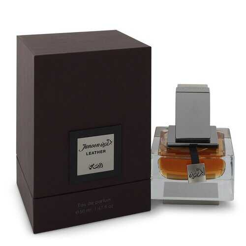 Rasasi Junoon Leather by Rasasi Eau De Parfum Spray 1.67 oz (Men)