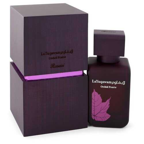 Rasasi La Yuqawam Orchid Prairie by Rasasi Eau De Parfum Spray 2.5 oz (Women)
