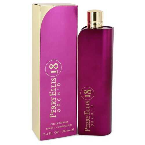 Perry Ellis 18 Orchid by Perry Ellis Eau De Parfum Spray 3.4 oz (Women)