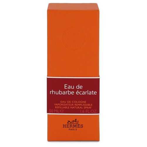 Eau De Rhubarbe Ecarlate by Hermes Eau De Cologne Spray 1.6 oz (Men)