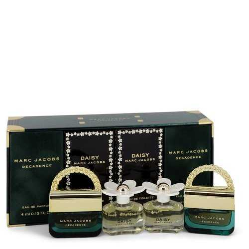 Daisy by Marc Jacobs Gift Set -- Mini Gift Set includes two Daisy Travel Sprays and Two Decadence Travel Sprays all .13 oz (Women)