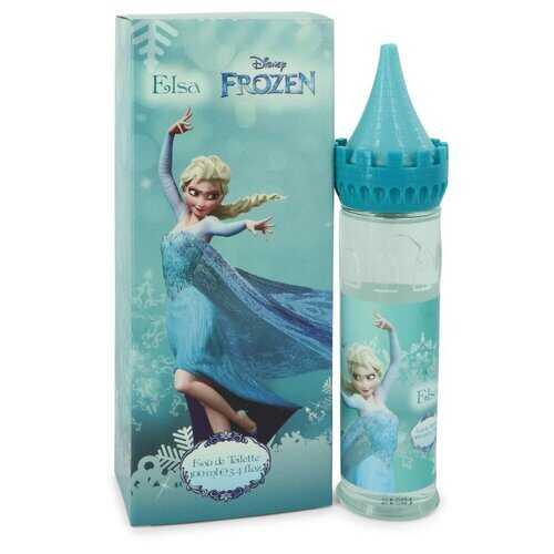 Disney Frozen Elsa by Disney Eau De Toilette Spray (Castle Packaging) 3.4 oz (Women)