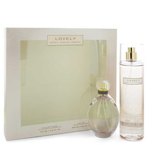 Lovely by Sarah Jessica Parker Gift Set -- 3.4 oz Eau De Parfum Spray + 8 oz Body Mist (Women)
