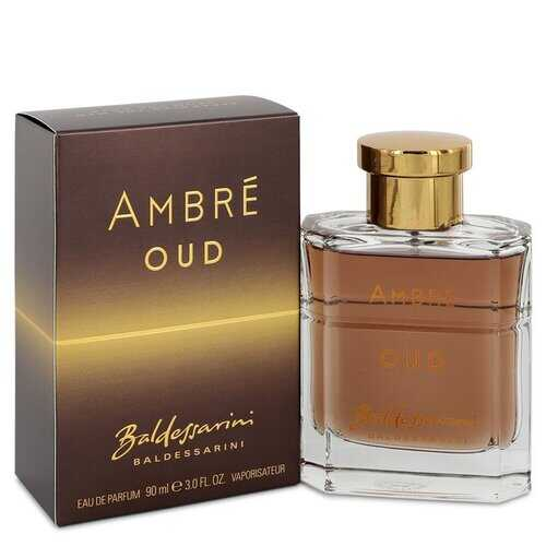 Baldessarini Ambre Oud by Hugo Boss Eau De Parfum Spray 3 oz (Men)