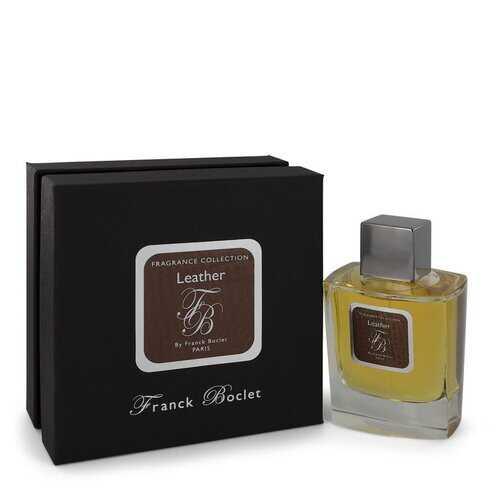 Franck Boclet Leather by Franck Boclet Eau De Parfum Spray 3.4 oz (Men)