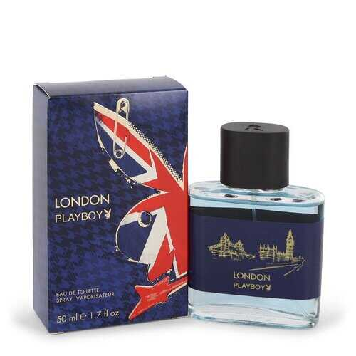 Playboy London by Playboy Eau De Toilette Spray 1.7 oz (Men)