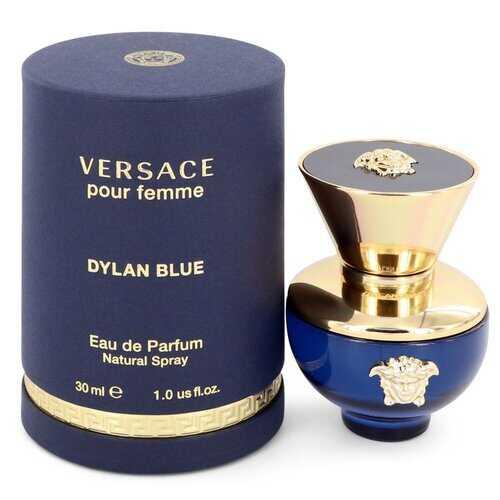 Versace Pour Femme Dylan Blue by Versace Eau De Parfum Spray 1 oz (Women)