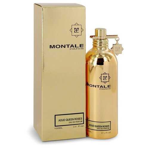 Montale Aoud Queen Roses by Montale Eau De Parfum Spray (Unisex) 3.4 oz (Women)