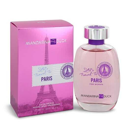 Mandarina Duck Let's Travel to Paris by Mandarina Duck Eau De Toilette Spray 3.4 oz (Women)