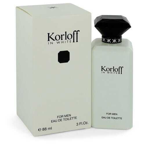 Korloff in White by Korloff Eau De Toilette Spray 3 oz (Men)