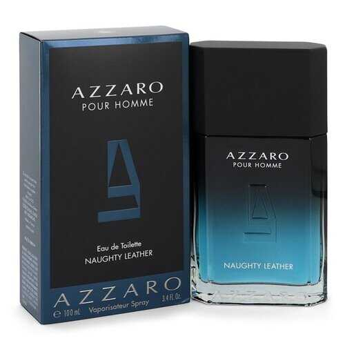 Azzaro Naughty Leather by Azzaro Eau De Toilette Spray 3.4 oz (Men)