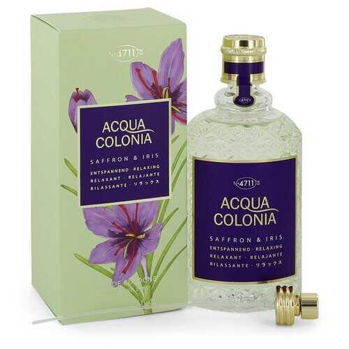 4711 Acqua Colonia Saffron & Iris by Maurer & Wirtz Eau De Cologne Spray 5.7 oz (Women)