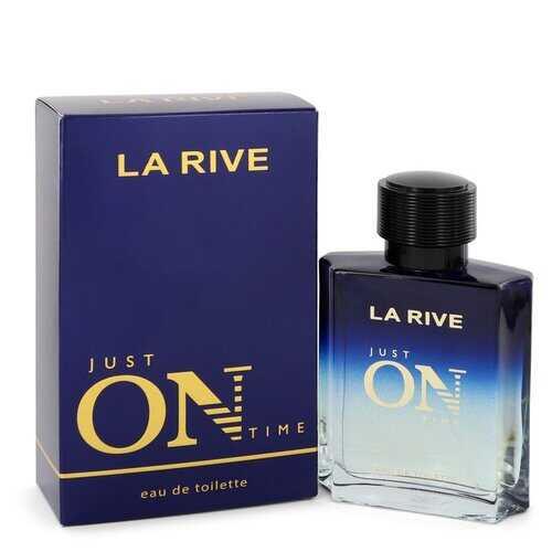 La Rive Just On Time by La Rive Eau De Toilette Spray 3.3 oz (Men)