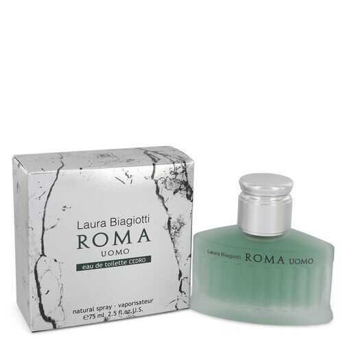 Roma Uomo Cedro by Laura Biagiotti Eau De Toilette Spray 2.5 oz (Men)
