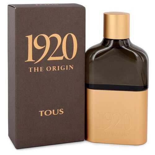 Tous 1920 The Origin by Tous Eau De Parfum Spray 3.4 oz (Men)