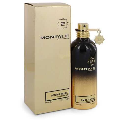 Montale Amber Musk by Montale Eau De Parfum Spray (Unisex) 3.4 oz (Women)