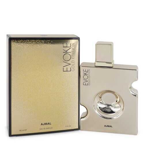 Evoke Gold by Ajmal Eau De Parfum Spray 3 oz (Men)