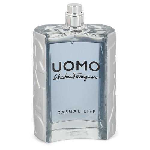 Salvatore Ferragamo Uomo Casual Life by Salvatore Ferragamo Eau De Toilette Spray (Tester) 3.4 oz (Men)