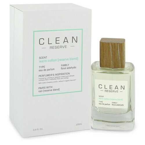 Clean Reserve Warm Cotton by Clean Eau De Parfum Spray 3.4 oz (Women)