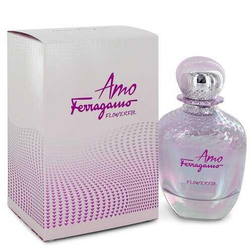 Amo Flowerful by Salvatore Ferragamo Eau De Toilette Spray 3.4 oz (Women)